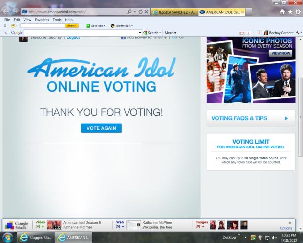 Voting online = lame. Duh.