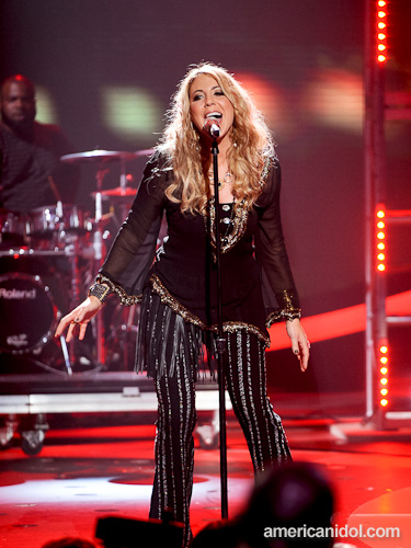 American Idol's first real rock goddess.