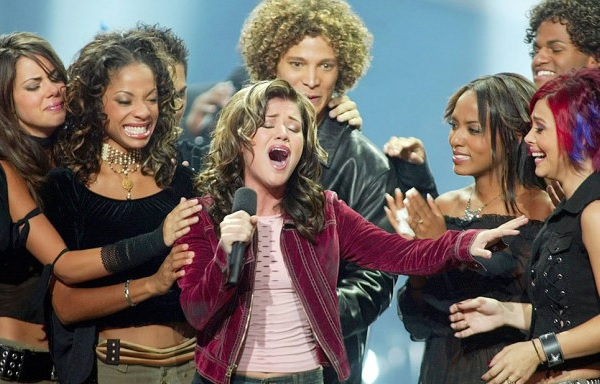 The Original Idol surrounded by the most early-2000s hairstyles you can find.