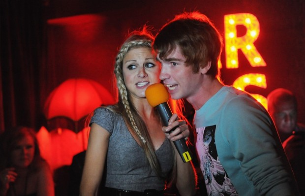 You know what else everyone hates at karaoke bars? The new couple singing some stupid duet.