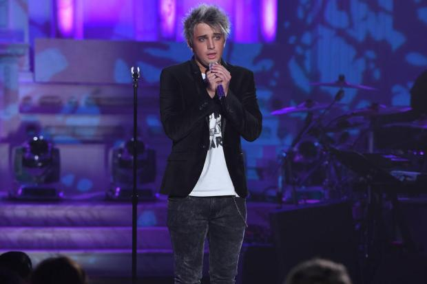 Thursday was the first night we saw Dalton leave it all out on the Idol stage